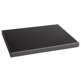 Base Rectangular Negro, serie 20150 (Frontal)