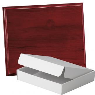 Placa de madera Etimoe Caoba Apoyo madera recto, serie 50210A (Frontal)
