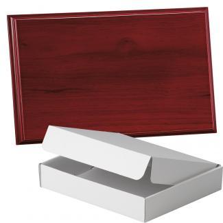 Placa de madera Etimoe Caoba Apoyo madera recto, serie 50390A (Frontal)