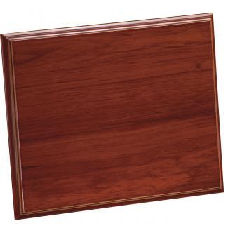 Placa de madera Etimoe Nogal Apoyo madera recto, serie 50470 (Frontal)