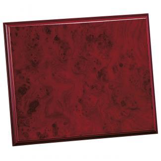 Placa de madera Raiz Caoba Apoyo madera recto, serie 50520 (Frontal)