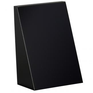 Cuña madera rectangular Negro , serie 70130 (Frontal)