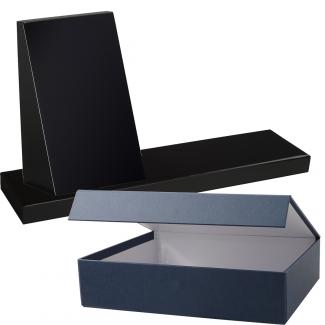 Cuña madera rectangular negro con base, serie 70130VE-20140 (Frontal)