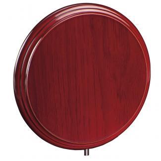 Cuña madera redonda etimoe caoba, serie 70280V (Frontal)