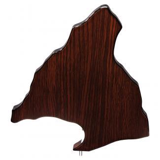 Mapa madera Comunidad Madrid wengue (solo parte alta) (Frontal)