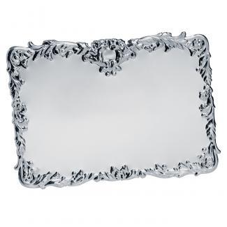 Placa aluminio acabado plata brillo, serie P095 (Frontal)