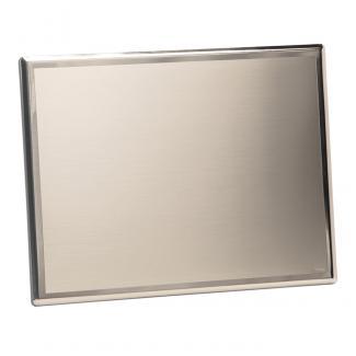 Placa plata de ley 126gr 925/1000, serie P199 (Frontal)