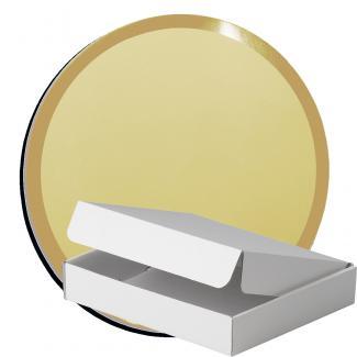 Kit placa de madera color negro mate, aluminio y estuche sencillo, serie P360A-50130 (Frontal)