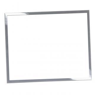 Placa aluminio sublimación rectangular blanco, serie P550 (Frontal)